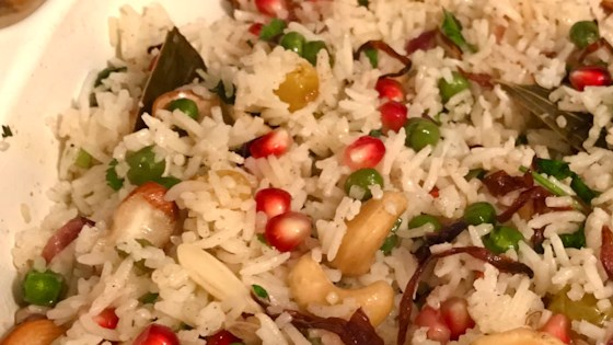 Photo of Matar Pulao with Nuts by LUNACITY