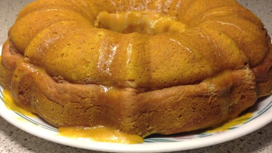 Gluten-Free Pumpkin Cream Cheese Cake
