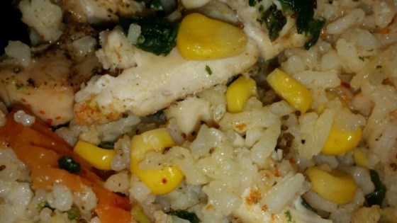 Photo of Chicken with Wild Rice and Vegetables Casserole by Tracy