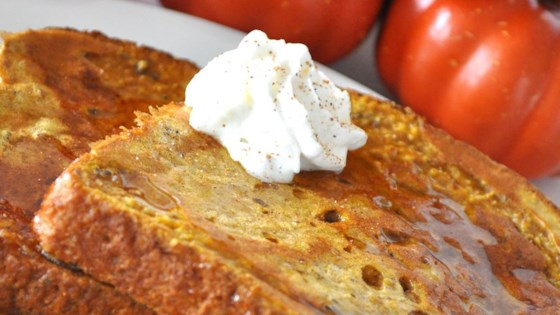Photo of Pumpkin Pie French Toast by Andrea Cushman