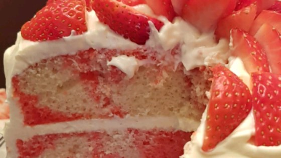 Photo of Strawberry Marble Cake by K. Cipriano