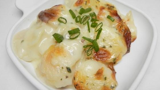Photo of Hearty Swiss Potato Casserole  by Tara
