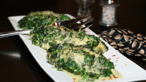 Photo of Low-Carb Chicken and Spinach Casserole by MissKendra