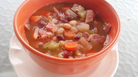 Photo of Super Leftover Spiral Ham and Bean Soup by CristinaLee