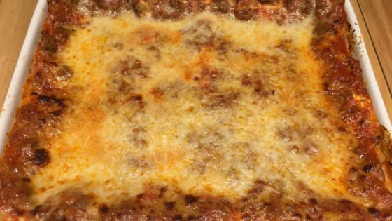 Photo of Philly Cheesesteak Lasagna by Lili Zimmermann