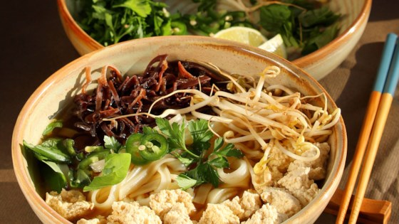 Photo of Vegetarian Pho (Vietnamese Noodle Soup) by Annette Marcelo