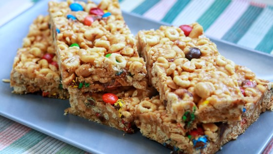 Photo of No Bake Cereal Bars by Amy Berry
