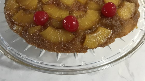 Photo of Pineapple Upside-Down Cake (Gluten Free) by corbettcook