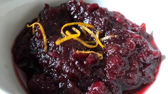 Photo of Instant Pot® Port Cranberry Sauce by Fioa