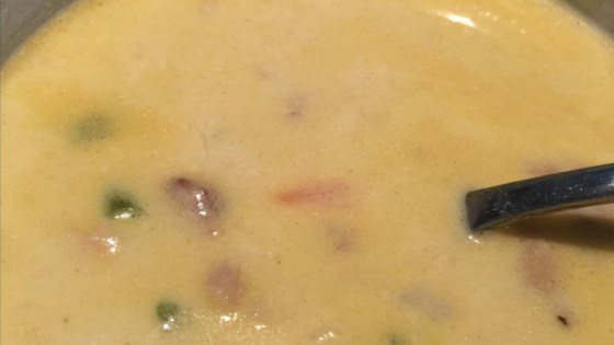 Photo of Creamy Chicken Peanut Soup by leia