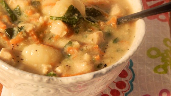 Photo of Chicken Gnocchi Soup by John