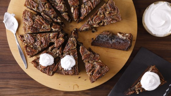 Photo of Pecan Pie Brownies by Julie Hubert