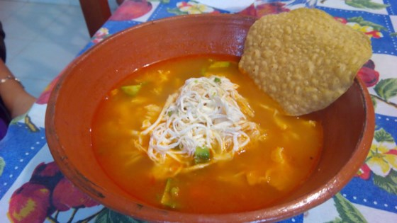 Photo of Mexican Chicken Soup with Garbanzo Beans (Caldo Tlalpeno) by Guillermo