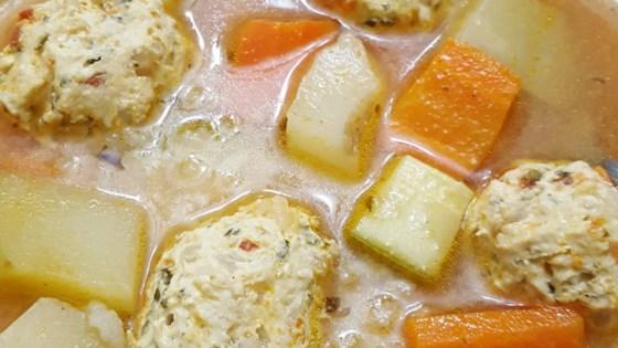 Photo of Mexican Chicken Meatball Soup (Sopa de Albondigas de Pollo) by gema