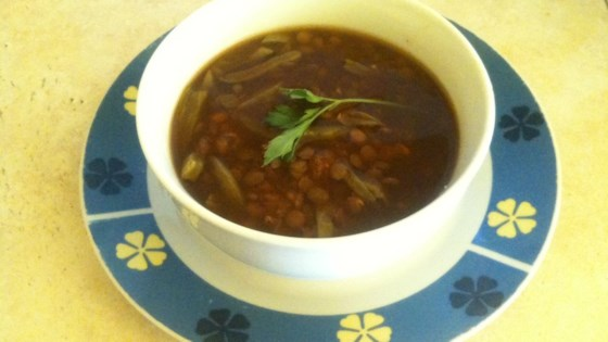 Photo of Mexican Lentil Soup with Cactus by María Eugenia