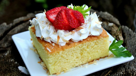 Photo of Pastel de Tres Leches (Three Milk Cake) by Patty Valle Kafati