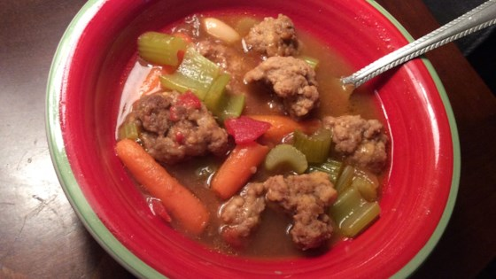 Photo of Hearty Meatball Soup II by Judy Henry