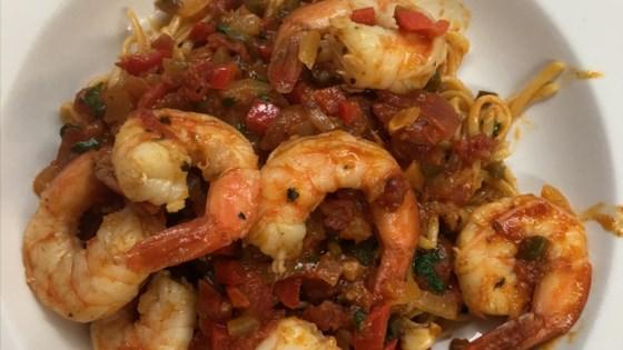 Diablo Shrimp Saute
