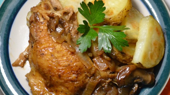 Photo of Balsamic Chicken Breasts with Porcini Mushrooms by AllisonnL