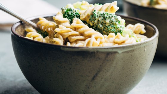Photo of The Best Vegan Mac and Cheese  by nutriciously