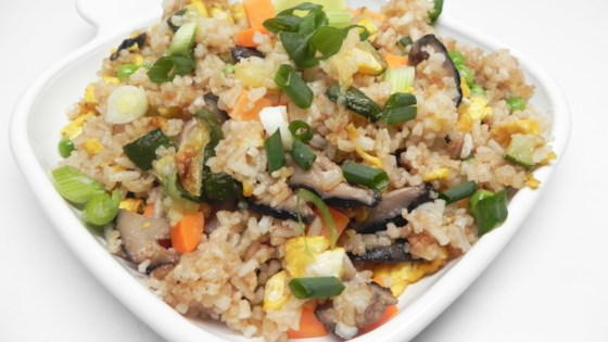 Photo of Egg Fried Rice with Cucumber by Bing