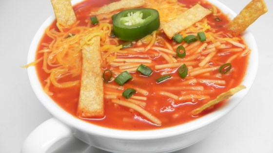"Photo of ""Dry"" Mexican Noodle Soup (Sopa Seca de Fideos) by Josefina Mijares"