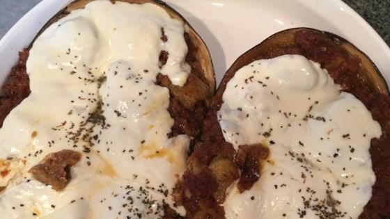 Eggplant With Mushroom Stuffing Recipe - Allrecipes.com