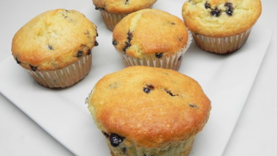 Photo of Vegan Blueberry Muffins with Applesauce by specialk