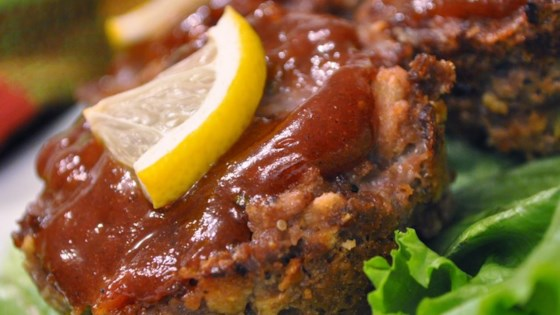 Photo of Lemon Barbeque Meatloaf by TIFFANYIVANOVSKY