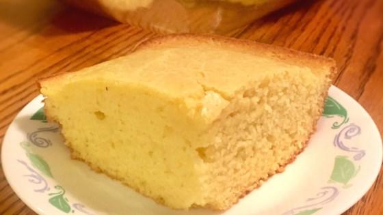 Photo of Moist, Sweet Vegan Cornbread by Arielle