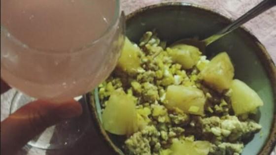 Photo of Pineapple Chicken 'Fried' Cauliflower Rice by Juliajewelia