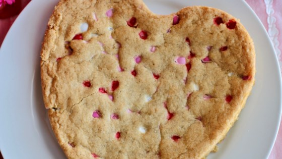 Photo of Giant Heart-Shaped Pan Cookie by Jane Guzauskas Ruby