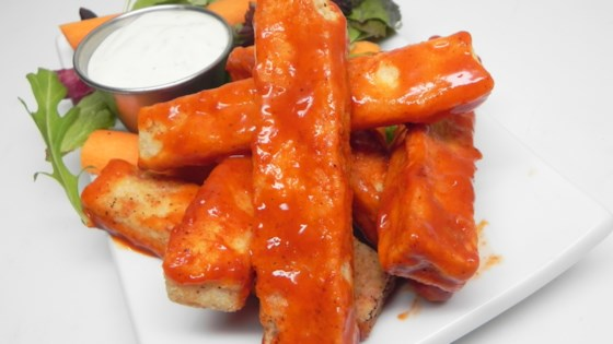 Buffalo Tofu 'Wings'