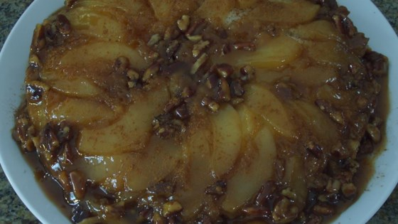 Photo of Cranberry Pear Upside-Down Cake by Suzy