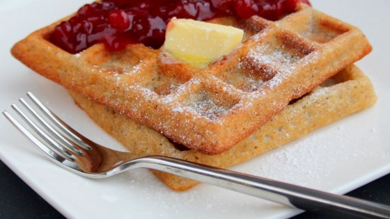 Photo of Delectable Organic Gluten-Free Waffles by Caroline Wagner