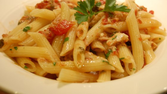 Photo of Easy Pasta with Tuna and Tomato Sauce by barbara