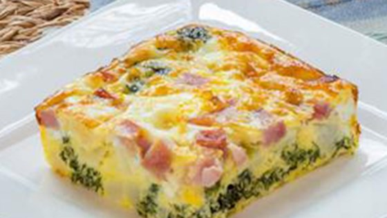 Healthy Crustless Quiche Base Recipe