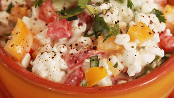 Photo of Fresh Salsa with Cottage Cheese by Shamrock Farms