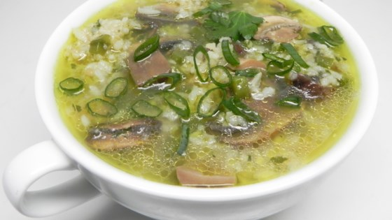 Photo of Mexican Rice Soup with Mushrooms by Eugenia