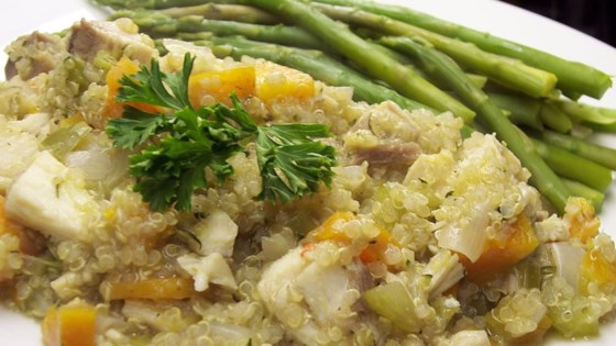 Photo of Quinoa Pilaf with Shredded Chicken by thomlynn61601