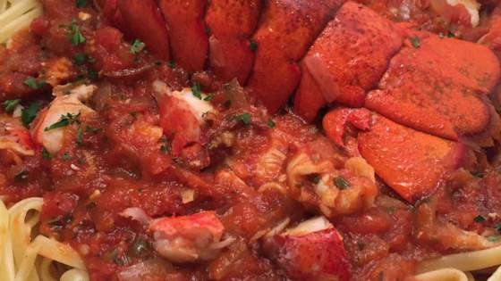 Lobster Tomato Sauce