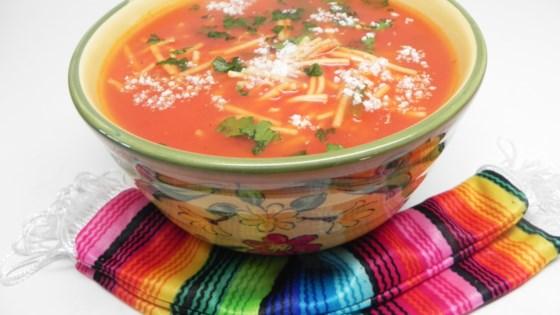 Photo of Mexican Noodle Soup (Sopa de Fideo) by Ainé