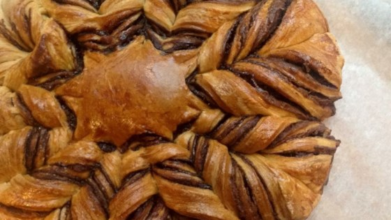 Photo of Nutella® Star Bread with Puff Pastry by Fioa