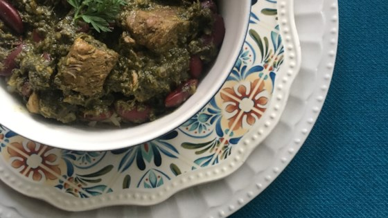 Photo of Ghormeh Sabzi (Persian Herb Stew) by marybakes