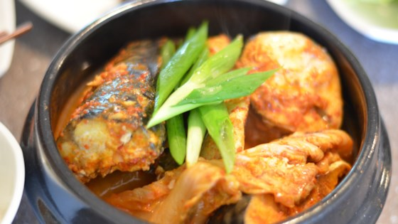 Photo of Godeungeo Jorim (Korean Braised Mackerel with Radish) by mykoreaneats