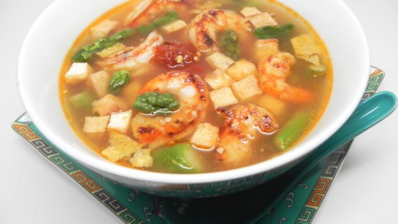 Photo of Shrimp and Tofu Soup by Wavedoll