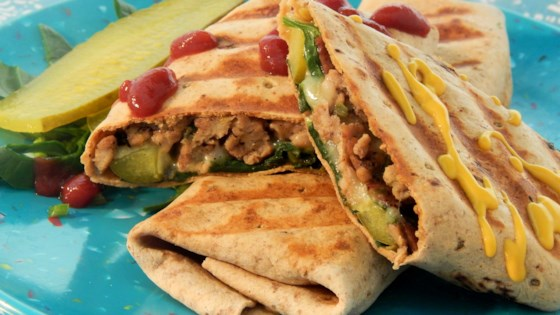 Photo of Spicy Bacon Cheeseburger Turkey Wraps by socforward88
