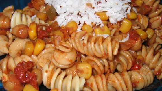 Photo of Southwestern Vegetarian Pasta by COLLEEN CAMPO