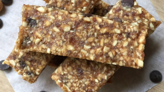 Photo of Chocolate Chip Cashew Date Bars by A Day In the Kitchen