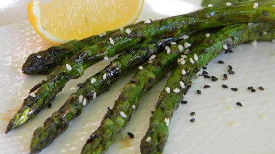 Photo of Grilled Asian Asparagus by yorkc39
